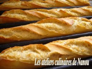 Baguettes de pain dans cook'in baguettes-francine-atelier-300x225