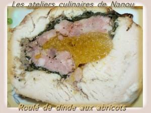 RÔTI DE DONDONNEAU FARCI ET PIM'S POIRE-CHOCOLAT dans Atelier roule-de-dinde1-300x225